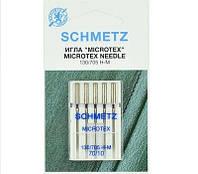 """Иглы Schmetz """"Microtex"""" № 70 с особенно острым тонким острием"""