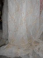 Тюлевая  штора Armonia di Interni с вышивкой