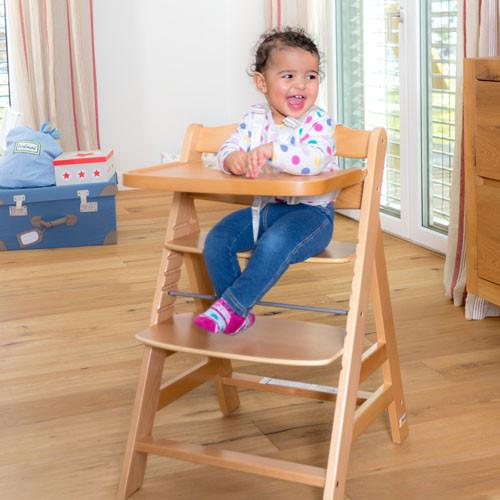 Деревянный  стульчик для кормления Hauck Gamma+