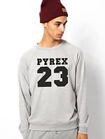 Свитшот серый PYREX 23