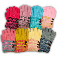 Детские перчатки  для девочки, C4