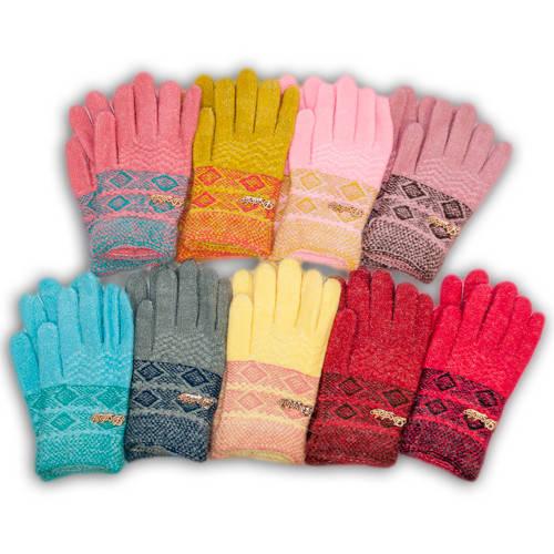 Детские перчатки утепленные для девочки, C16