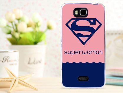 Чехол-накладка для Huawei Y5c Y541 с картинкой Superwomen