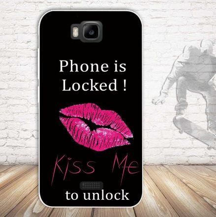 Чехол-накладка для Huawei Y5c Y541 с картинкой Kiss me
