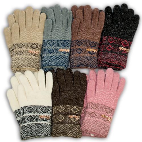 Детские перчатки утепленные для девочки, C24