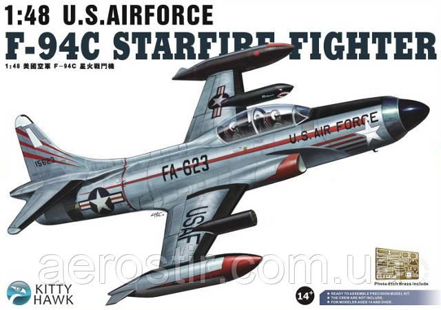 F 94C Starfire Fighter 1/48 Kitty Hawk 80101