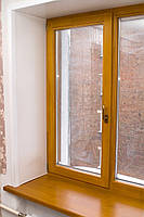 """Поворотно-откидное окно из """"холодного"""" алюминия, двухстор. покраска RAL, Lorenzoline 40C, 1300*1400"""