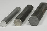 Шестигранник стальной сталь 3, 20, 35, 45, ст 65Г по ГОСТ в сортаменте