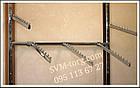 Рейка (профиль) в дереве красная (широкая) 2м., фото 3