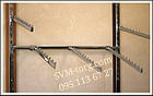 Рейка (профиль пристеный) в дереве светлая  2м., фото 3