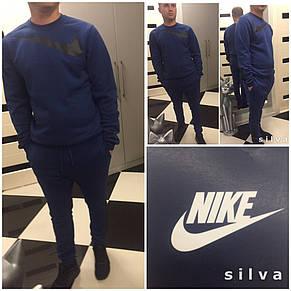 Утепленный трикотажный спортивный мужской костюм Nike   купить по ... 2a037b72e7693