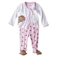 Комплект для новорожденной девочки  0-1 месяц