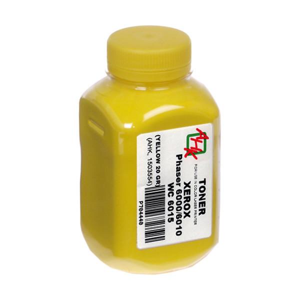 Тонер АНК для Xerox Phaser 6000/6010/WC6015 бутль 20г Yellow (1503554)