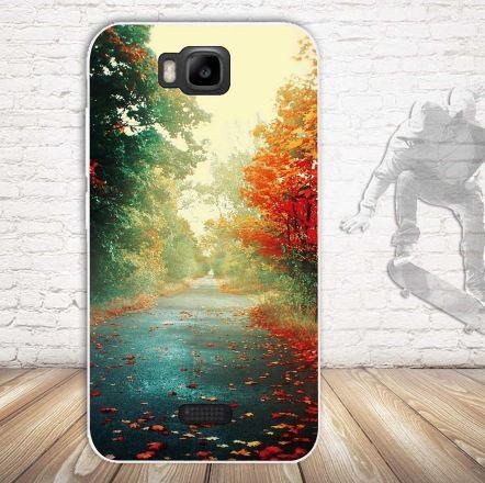 Эксклюзивный чехол для Huawei Y5c Y541 с картинкой Осень
