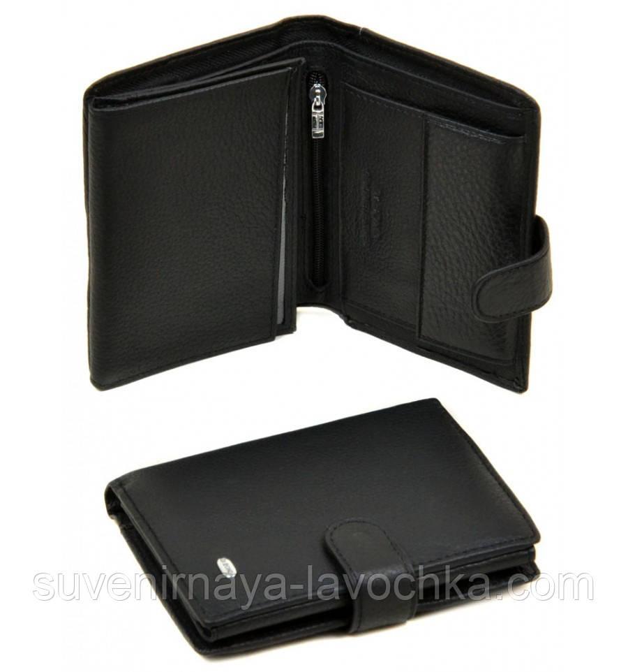 Кошелек Classik кожа dr.Bond M24 black кошелек небольшой, с молнией