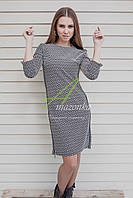 Стильное женское платье в стиле Casual от производителя - осень 2017 - Код пл-74