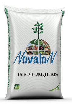 Новалон 15-5-30+2MgO+3S+МE -25 кг