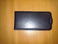 Чехол флип Fly Octa Ego2 iq455 - Atlanta Lux черный