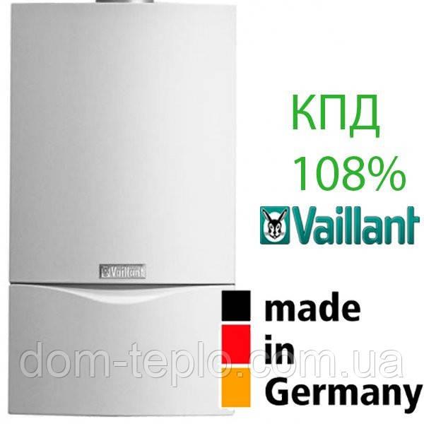 Котел газовый конденсационный одноконтурный  Vaillant ecoTEC plus VU INT 346/5-5  30 кВт (34 кВт ГВП)