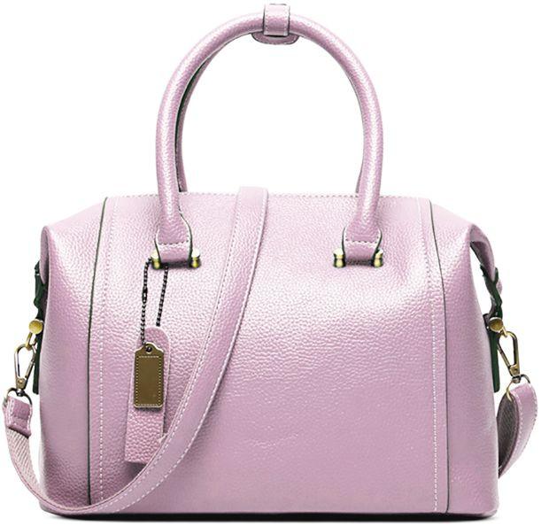 Женская сумка из натуральной кожи Traum 7334-16, розовый