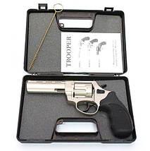 """Trooper 4.5"""" сталь сатин чёрный пластик. Револьверы под патрон Флобера. Револьвер Trooper 4.5"""", фото 3"""