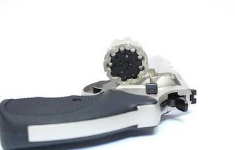 """Trooper 4.5"""" сталь сатин чёрный пластик. Револьверы под патрон Флобера. Револьвер Trooper 4.5"""", фото 2"""