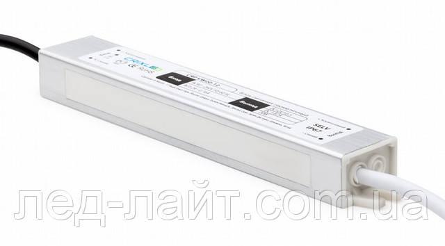 Блок питания 12В 1,66A 20Вт в герметичном корпусе (IP67)
