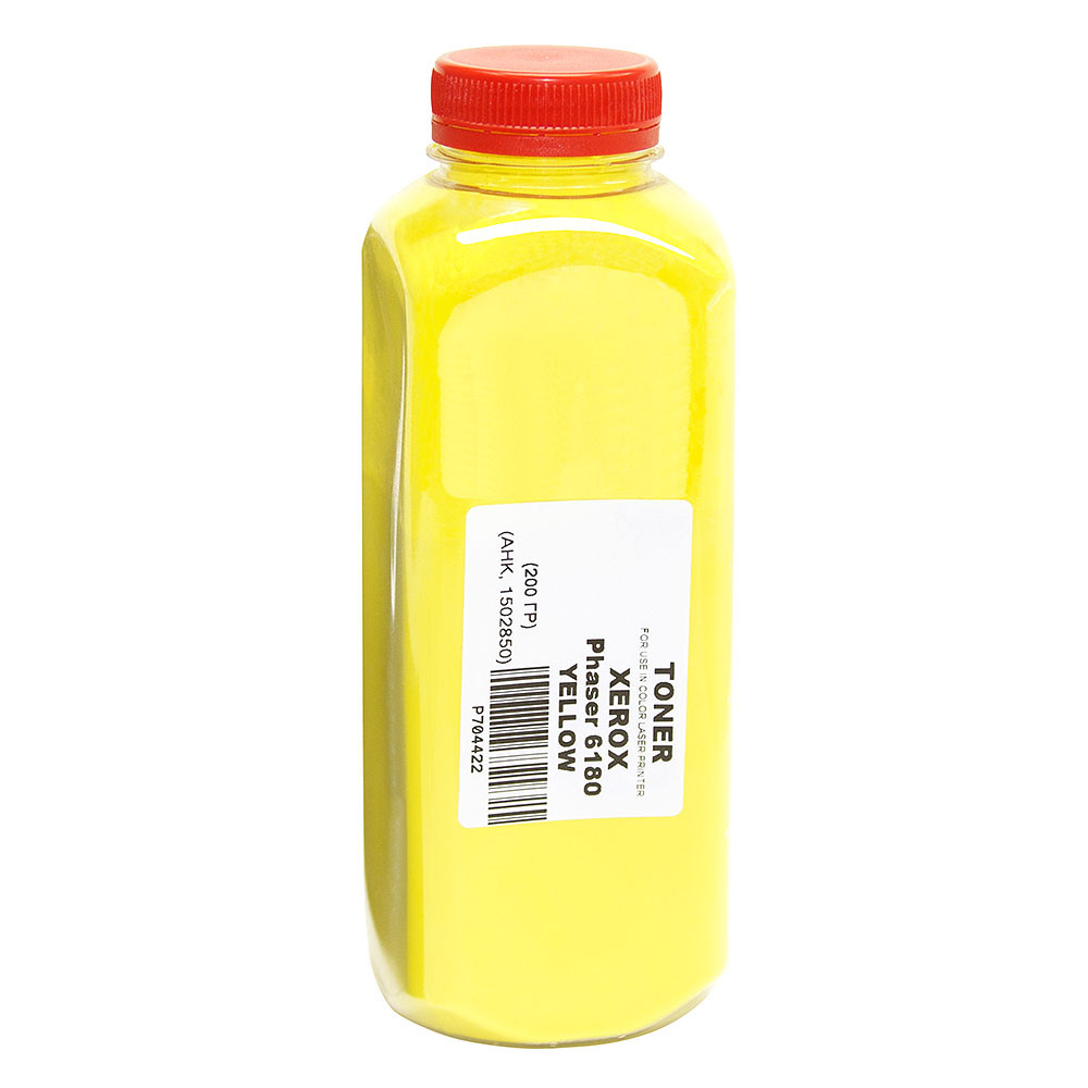 Тонер АНК для Xerox Phaser 6180 бутль 120г Yellow (1502850)
