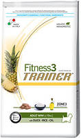 Trainer Fitness 3 Adult Mini With Duck Rice Oil 2кг Сухой корм для взрослых собак мелких пород с уткой