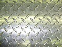 Лист алюминиевый рифленый АМГ2НР Диаманд, чечевица ГОСТ цена купить