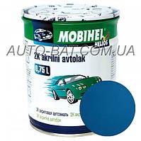 Автоэмаль двухкомпонентная автокраска акриловая (2К) 470 Босфор Mobihel, 0,75 л