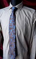 Рубашка B&H цвета хаки Слим фит Размер 16 / 41