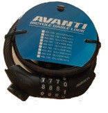 Замок Avanti AGL-705 10*1500mm кодовый с креплением