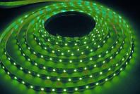 Cветодиодная лента SMD 2835 5 метров зелёный свет