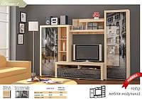 Стенка Неон-1 Мебель Сервис 2180х3000х605 мм