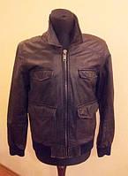 Стильная кожаная куртка Hi Buxter черного цвета