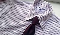 Mужская рубашка T.M.Lewin  в полоску 16,5 В.42