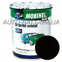 Автоэмаль двухкомпонентная автокраска акриловая (2К) 793 Тёмно-коричневая Mobihel, 0,75 л