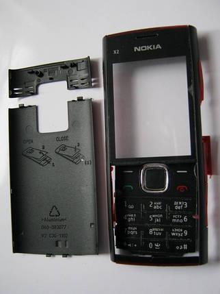 Корпус Nokia X2 00 чёрный не дорогой, фото 2