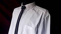 Рубашка приталенная белая  F&F