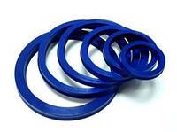 Манжета гидравлическая полиуретановая, синяя 140-110-17 C1 PU blue Excellent