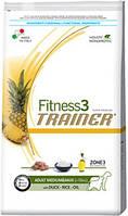 Trainer Fitness3 Adult Medium&Maxi Duck Rice Oil 12.5кг Корм для средних и крупных собак
