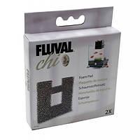 Сменная крупнопористая губка Fluval для аквариума Fluval Chi 19л и 25л, 2шт.