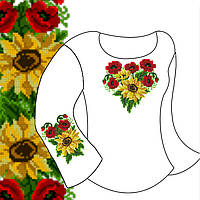 Заготовка для вишивки дитячої сорочки Д-18 габардин c2c15460ae411