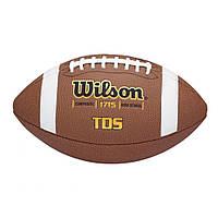 Мяч для американского футбола Wilson TDS Composite HS Pattern (WTF1715B)