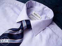 Рубашка голубого цвета VanHeusen. Ворот 41 (16)