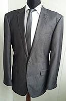 Костюм F&F приталенный серого цвета.Размер ХХЛ
