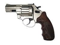 """Револьвер под патрон Флобера Trooper 2.5"""" сталь сатин пластик/под дерево."""