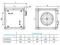 Бытовой вентилятор Lessar LV-FKQ 355-4-3