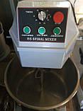 Тестомес спиральный двускоросростной Vektor HS 30 (30литров) 380V, фото 3